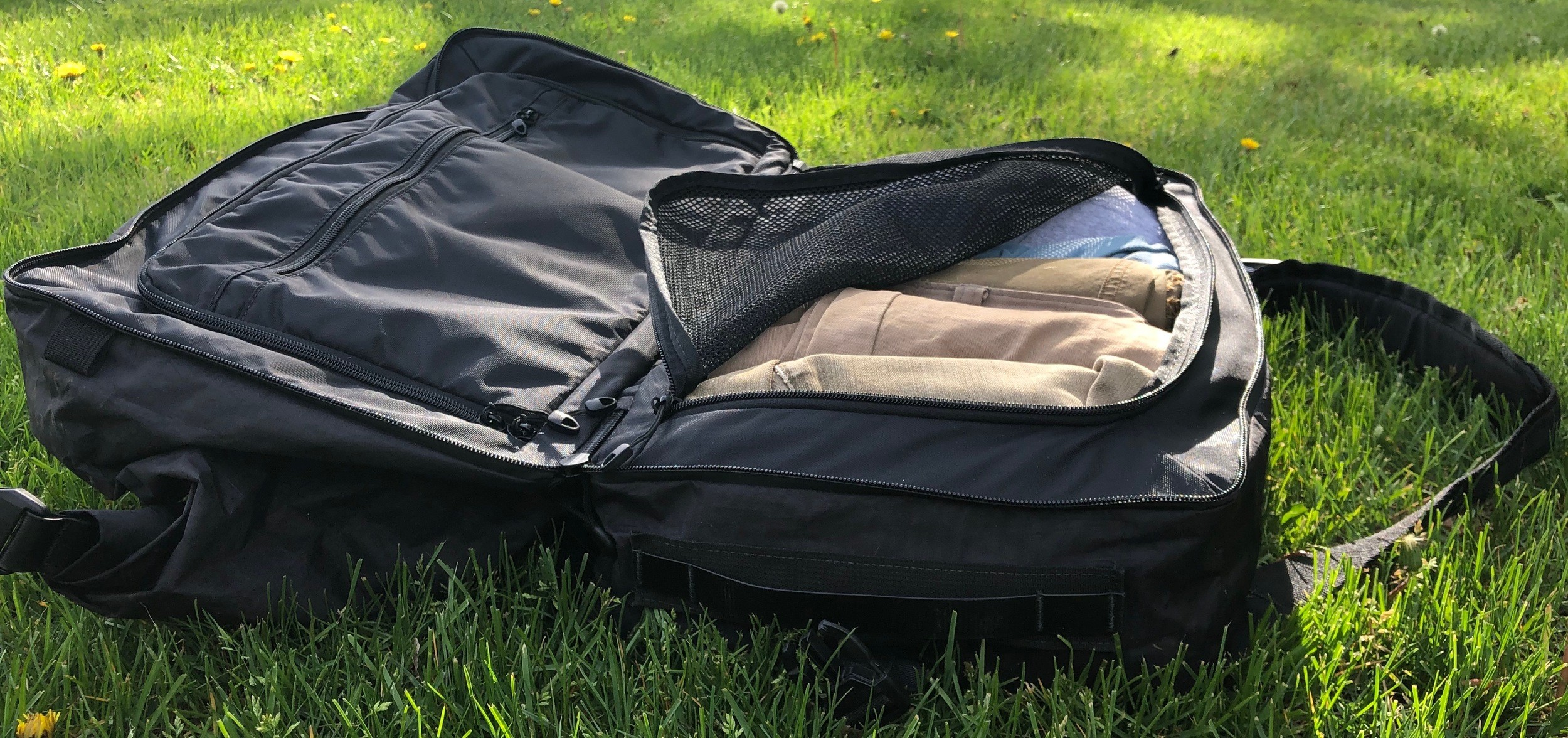 mile one backpack review