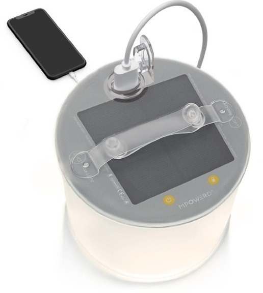 MPOWERD Luci Base Inflatable Solar Lantern