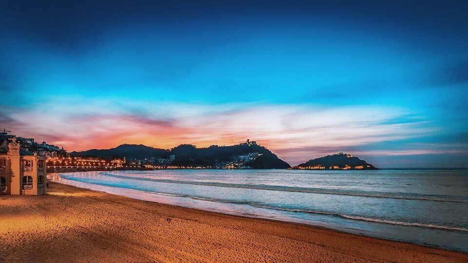 San Sebastian Sunset