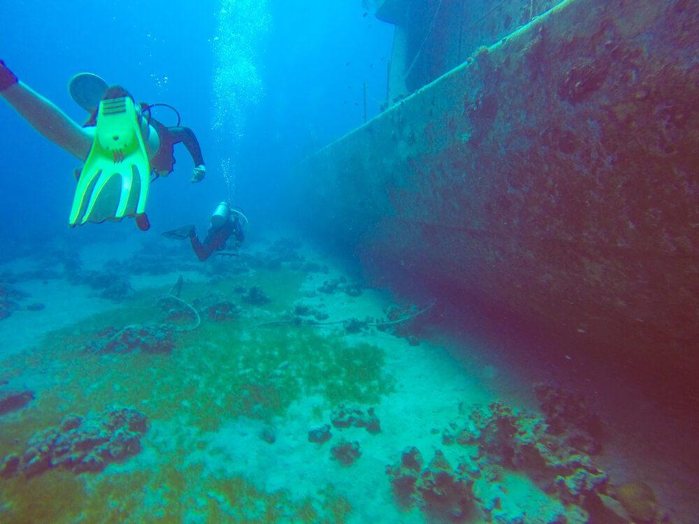 Satil Wreck (Sufa Missile Boat) - a wreck diving site in Eilat