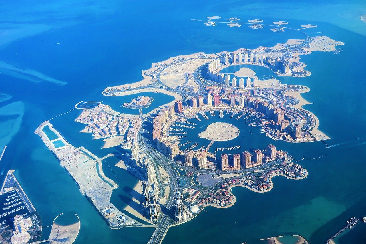 Artificial Islands Qatar