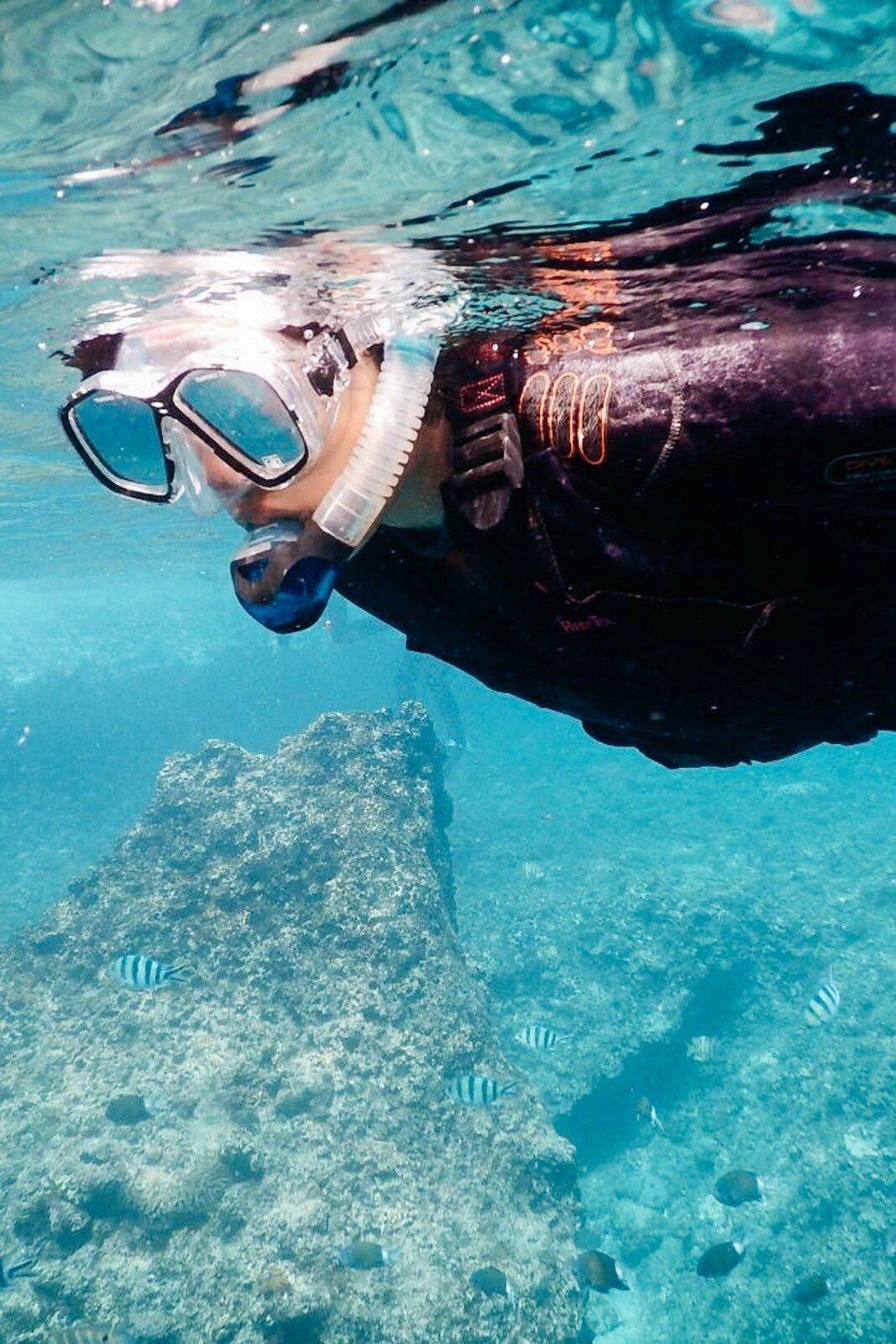 Blue Cave Snorkeling Tour