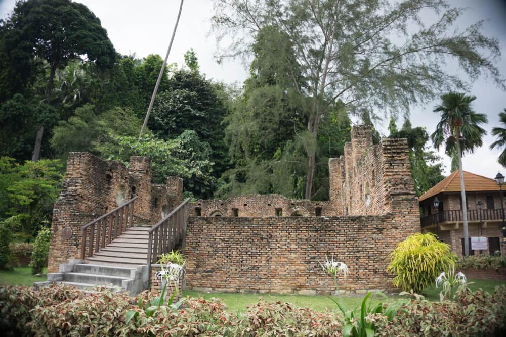 Dutch Fort Ruins Malaysia