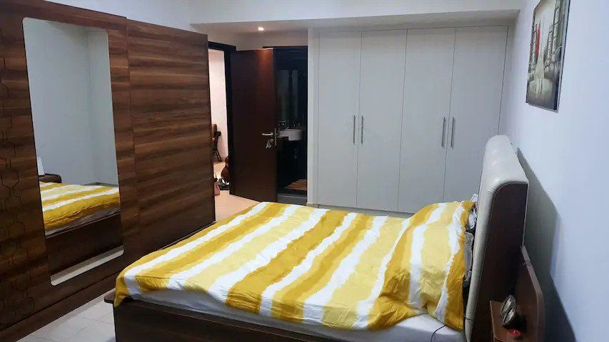 Fully furnished sea view flat
