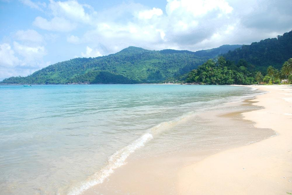 Juara Beach, Tioman Island is one of the best beaches in Malaysia