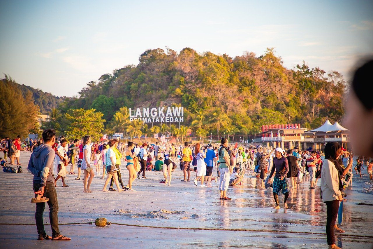 Pantai Cenang Langkawi is one of the best beaches in Malaysia