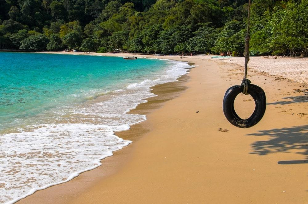 Pasi Bogak Pangkor Island, one of Malaysia's best beaches