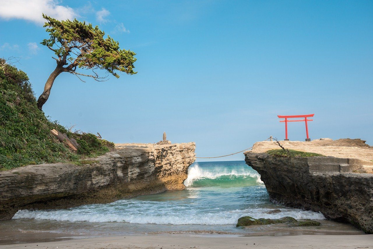 Shirahama Beach, Japan