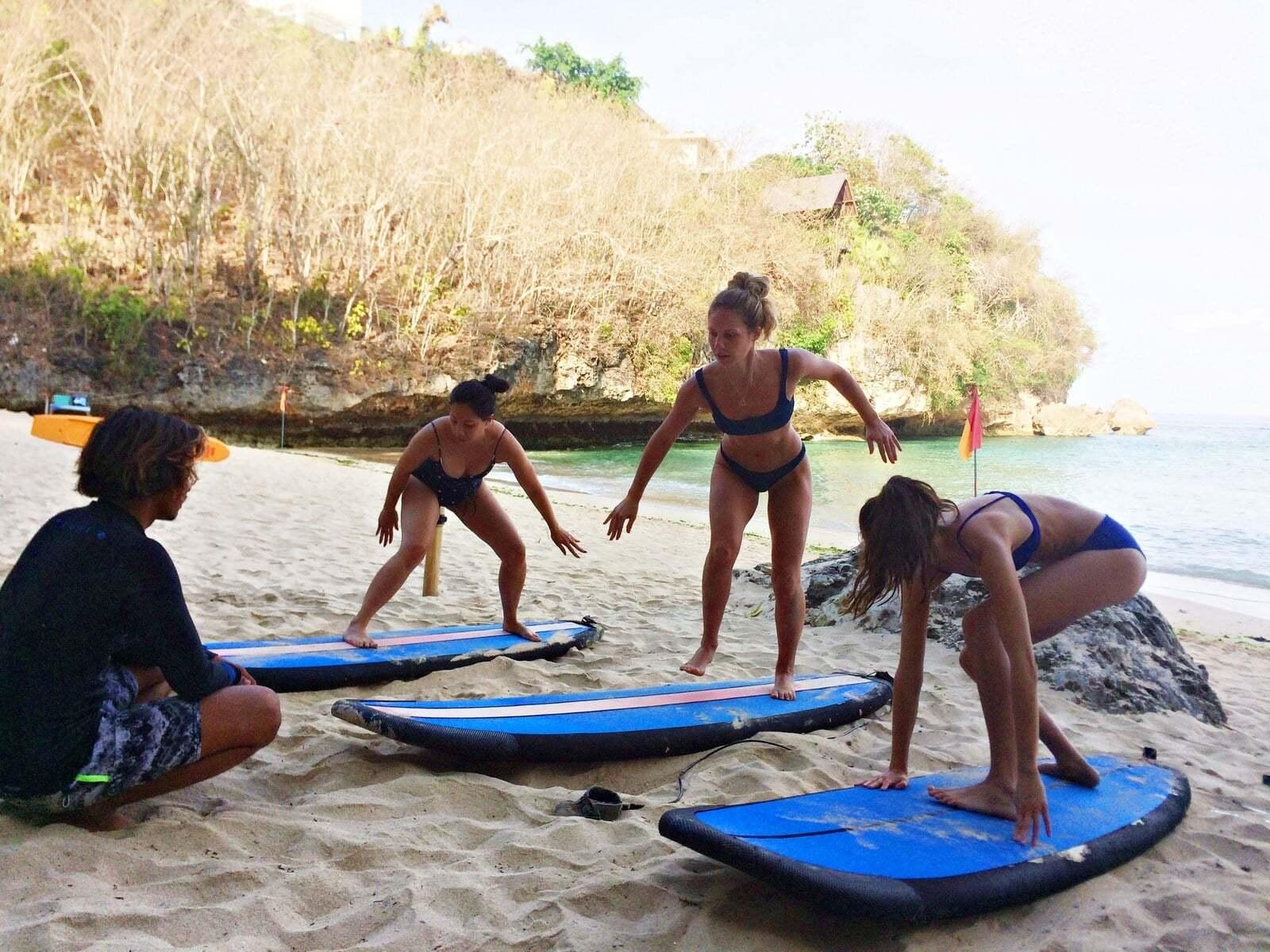 Surfnesia Surf Lesson