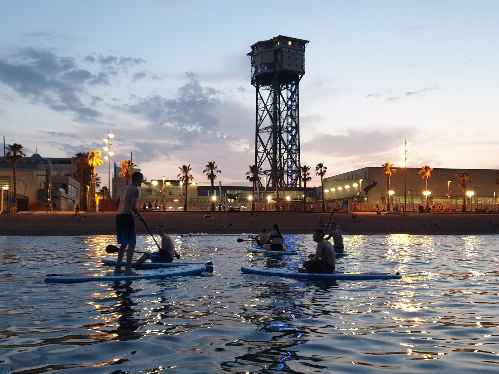 Try Sunset Paddle Surfing