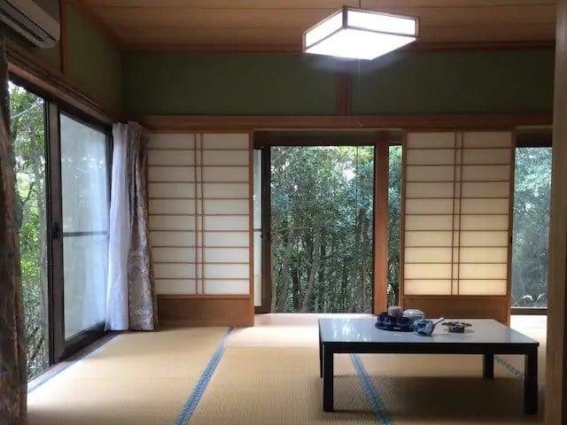 Villa in Kawaguchi Virgin Forest, Japan