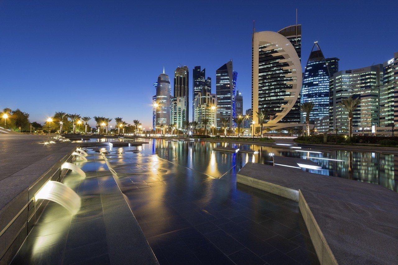 cityscape Doha Qatar