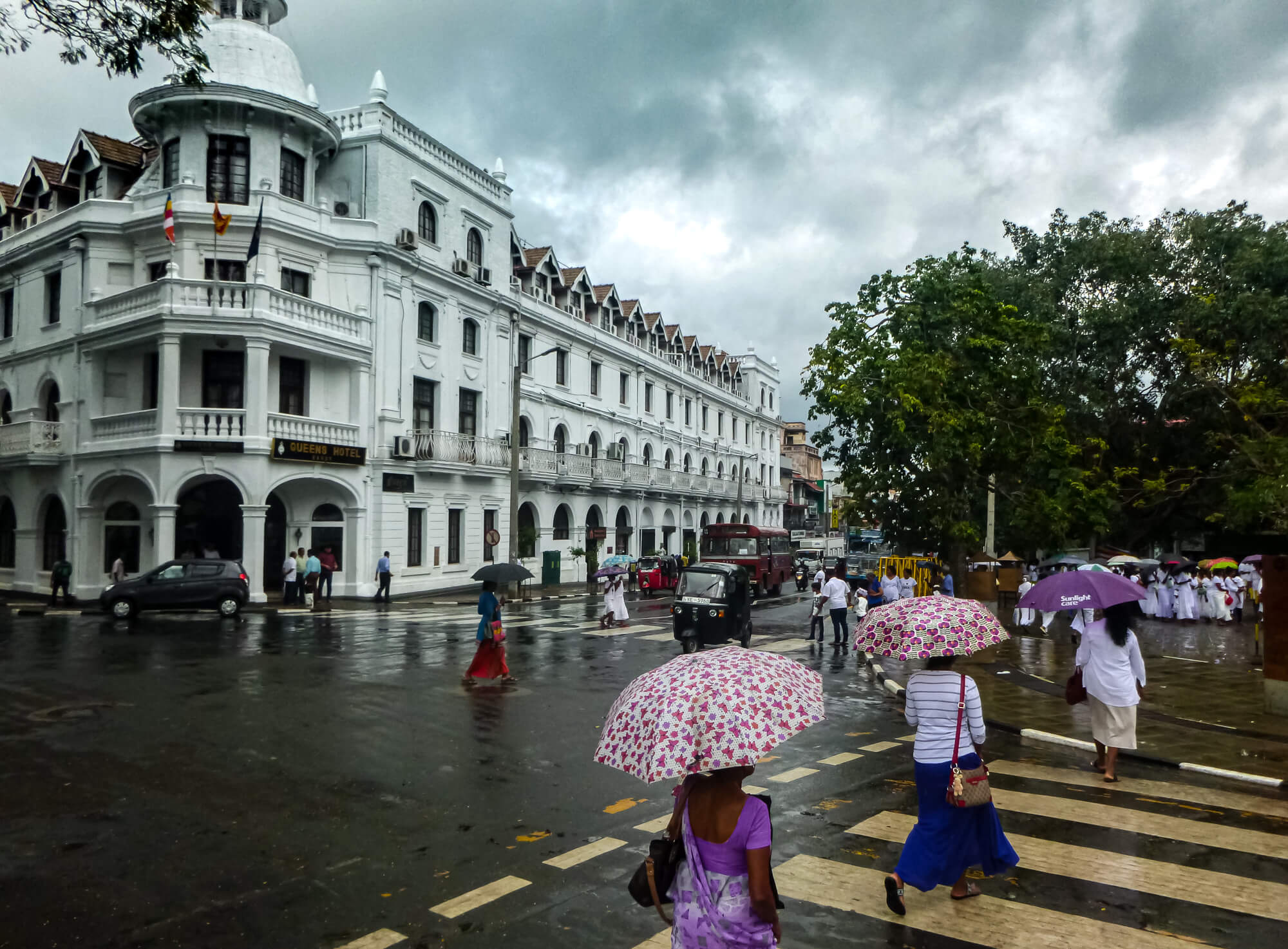 Visiting Kandy and the Temple of the Sacred Tooth Relic