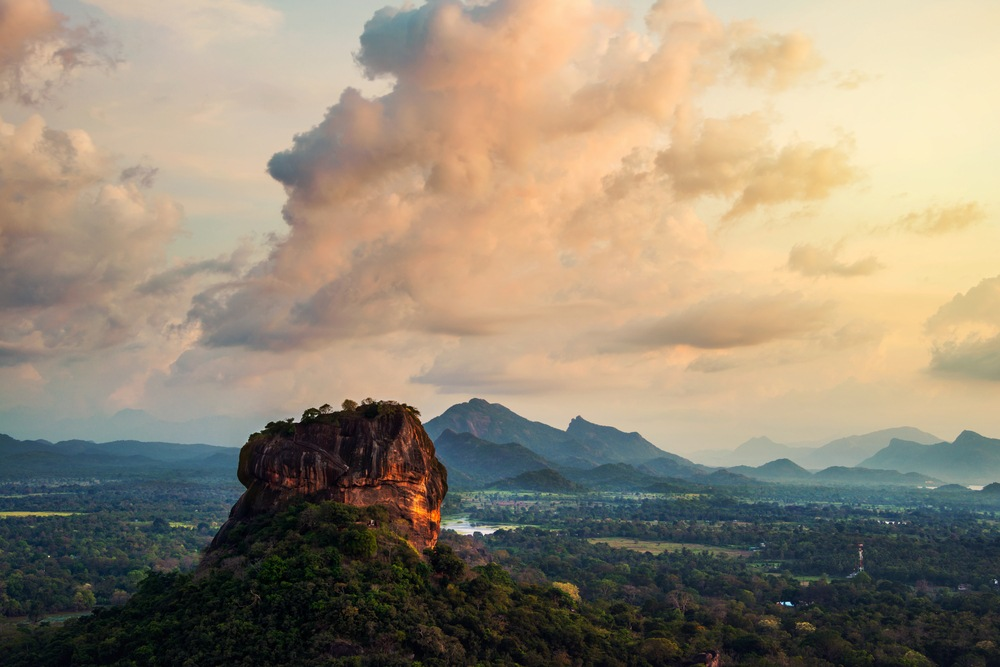 Lion's Rock and Sigiriya Fortress - a must-see attraction in Sri Lanka
