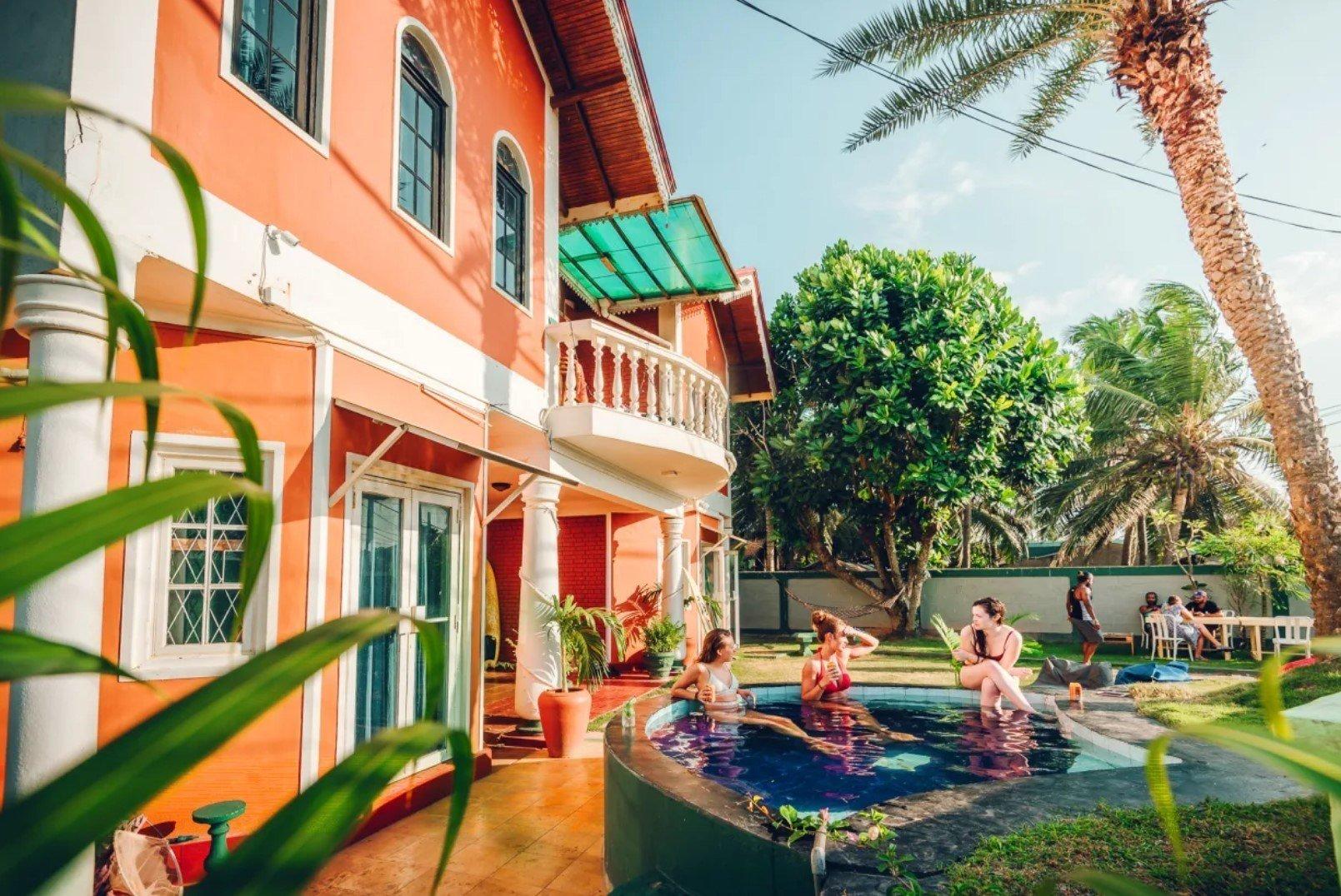 Where to Stay in Negombo: YoYo Beach Hostel