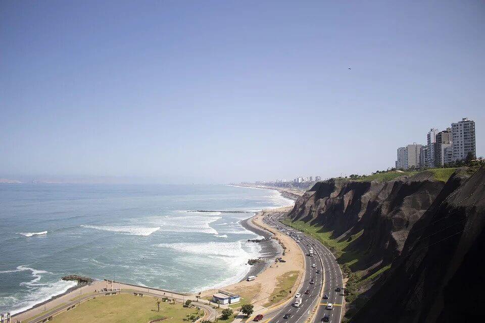 Miraflores Beach, Peru