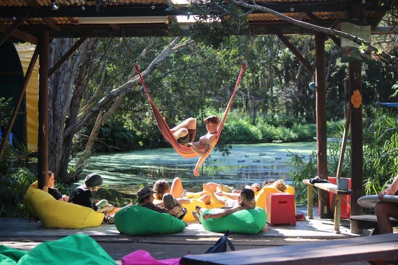 Best Hostel in Byron Bay, Australia - Arts Factory Lodge