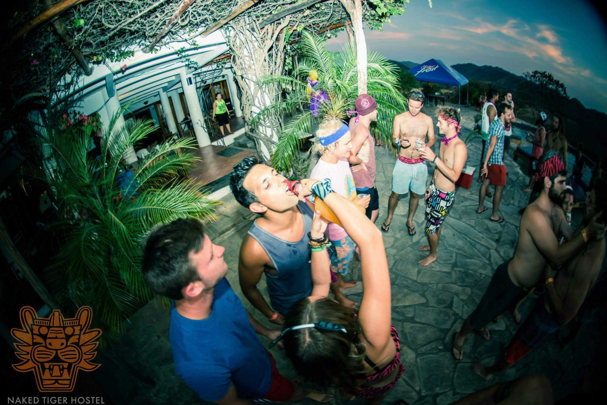Best Hostel in San Juan Del Sur, Nicaragua - Naked Tiger Hostel