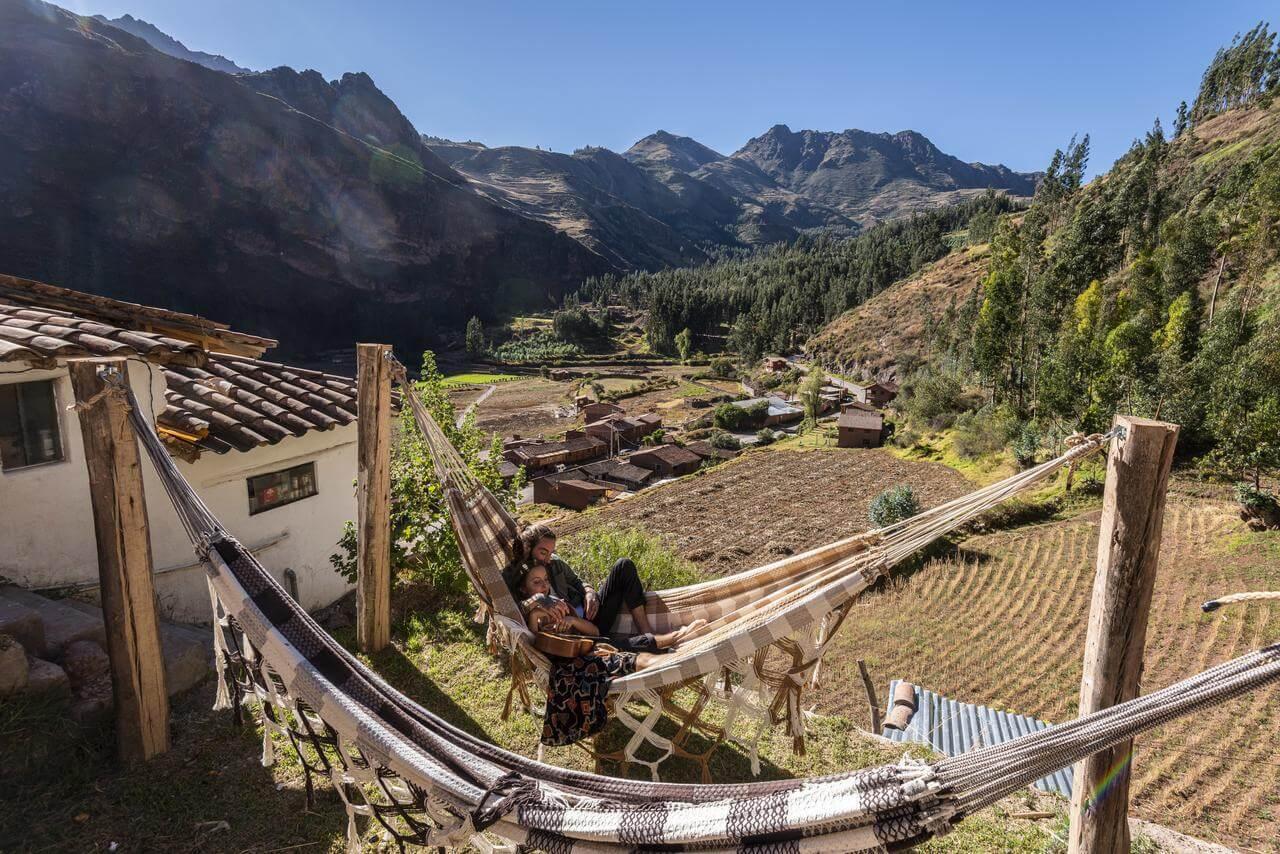 Best Hostel in Pisac, Peru - Wolf Totem Guesthouse