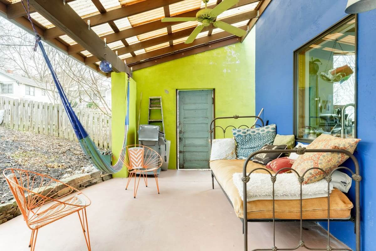 Best Airbnb Plus in Asheville Romantic Moroccan Influenced Cottage