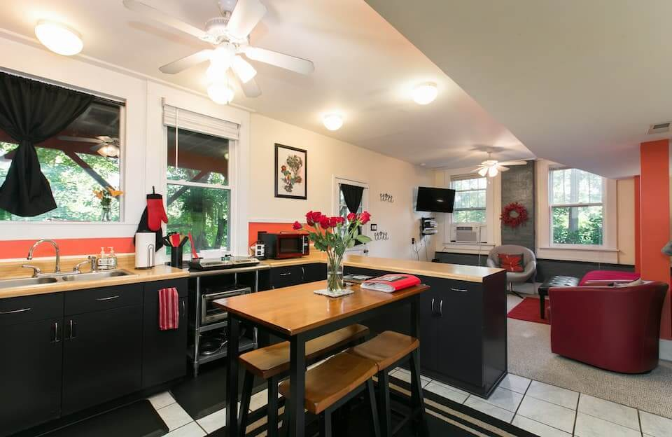 Best Airbnb in Asheville for Families Cheerful Home in Historic Downtown Asheville
