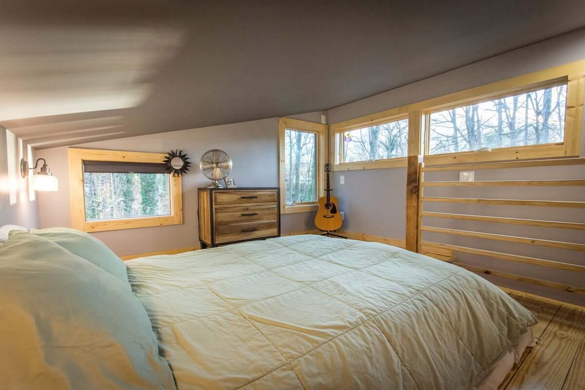 Best Short Term Rental for Couples Tiny House Near Downtown and Blue Ridge