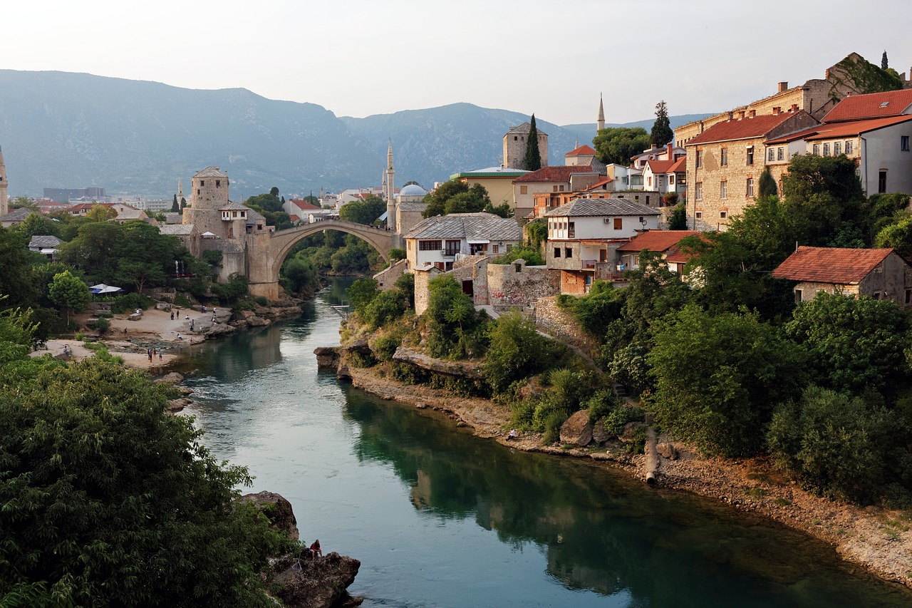 Small town in Bosnia and Herzegovina - recent addition to where Americans can travel right now