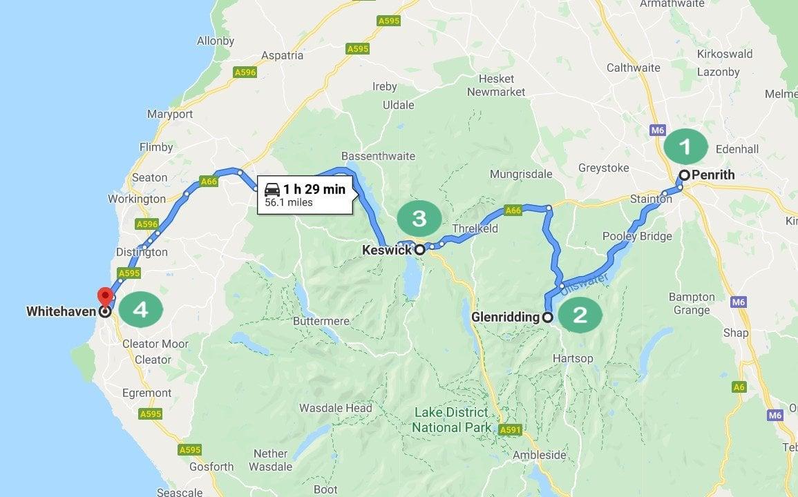 Lake District Route 1
