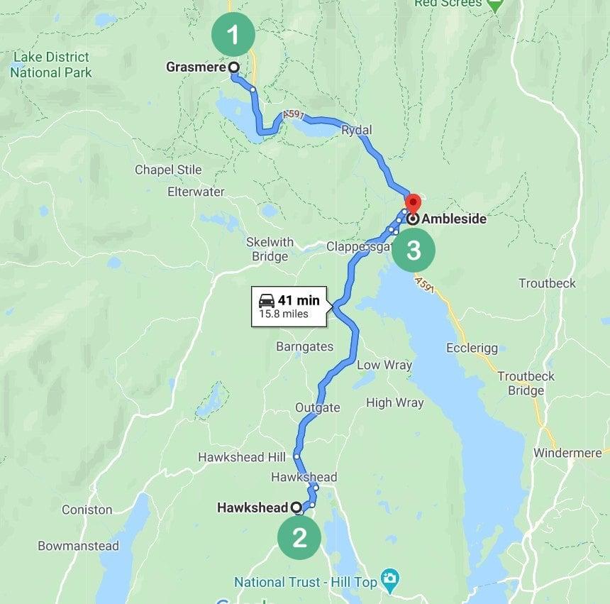 Lake District Route 2