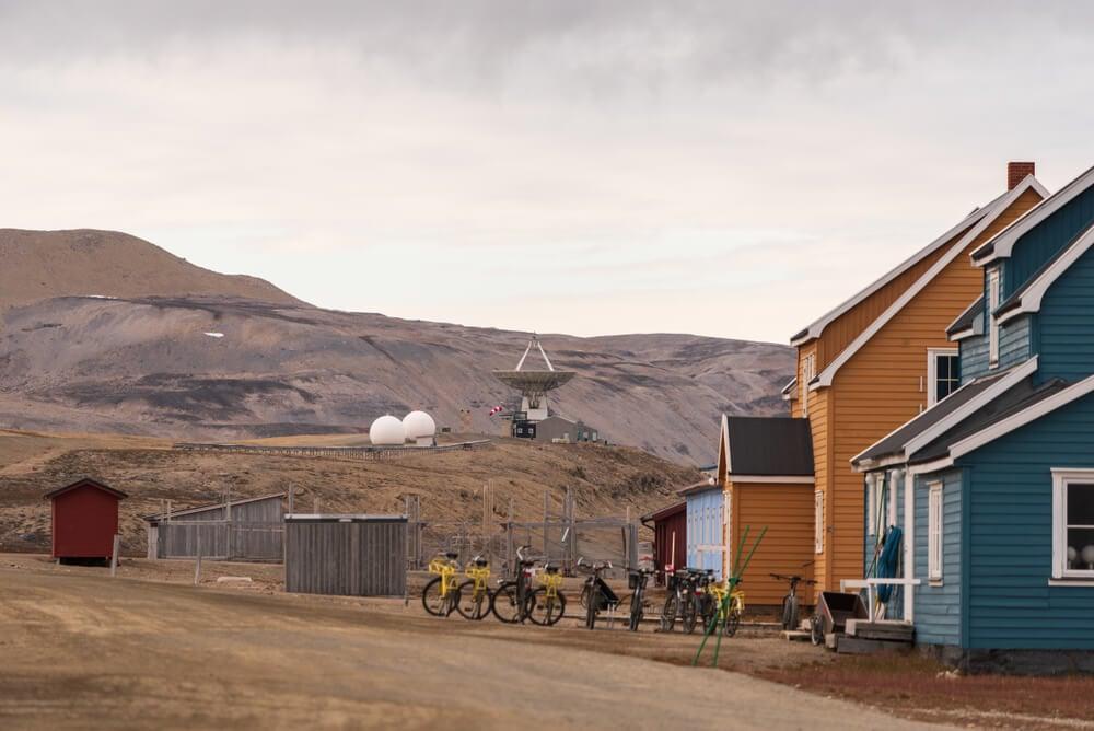 Ny Alesund Svalbard