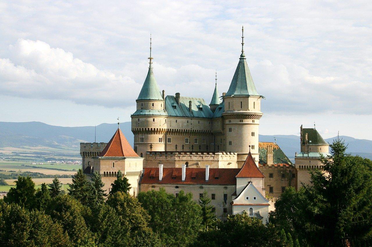 Slovakian castle.