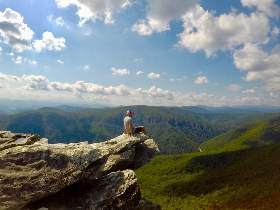 Summer Hike in the Blue Ridge Mountains
