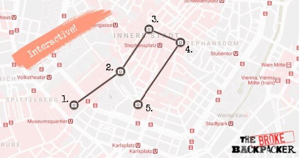 Vienna Day 1 Map