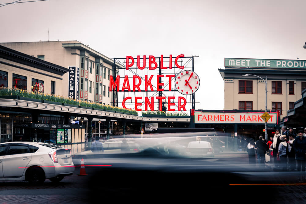 pike place market visit seattle