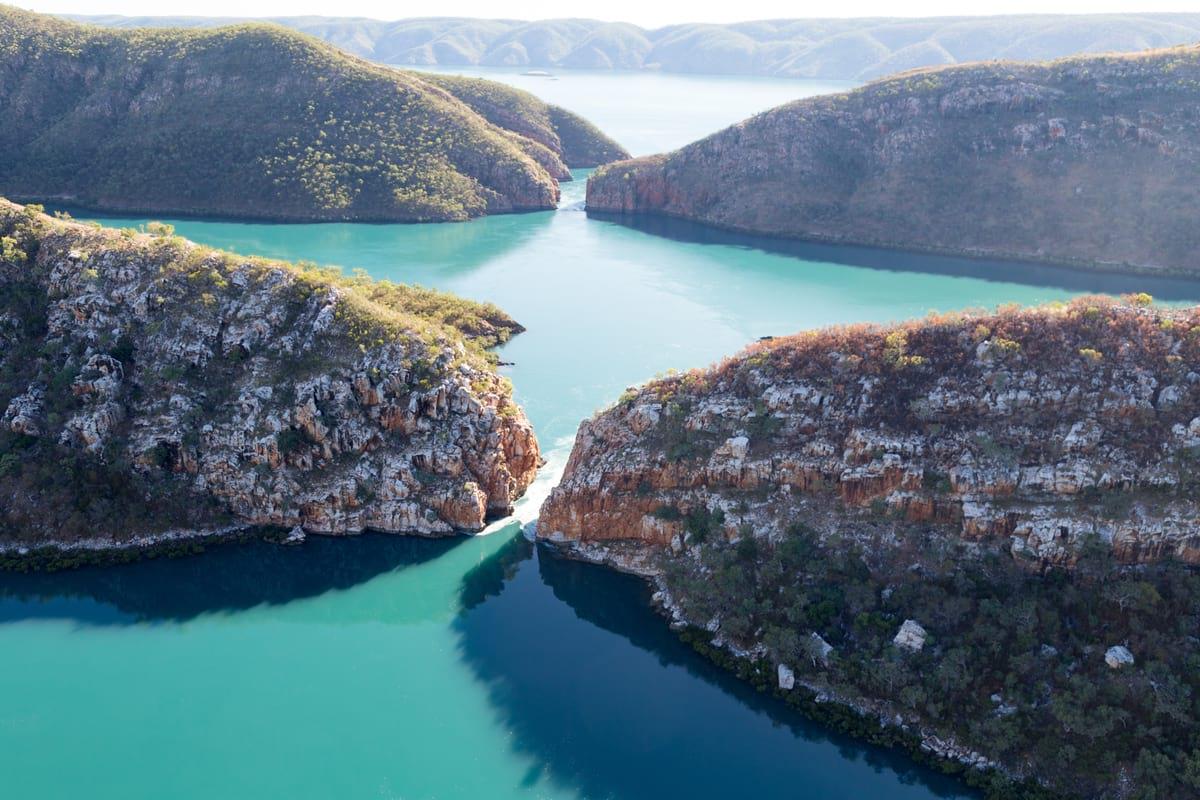Horizontal Falls, Talbot Bay - an adventure in Western Australia