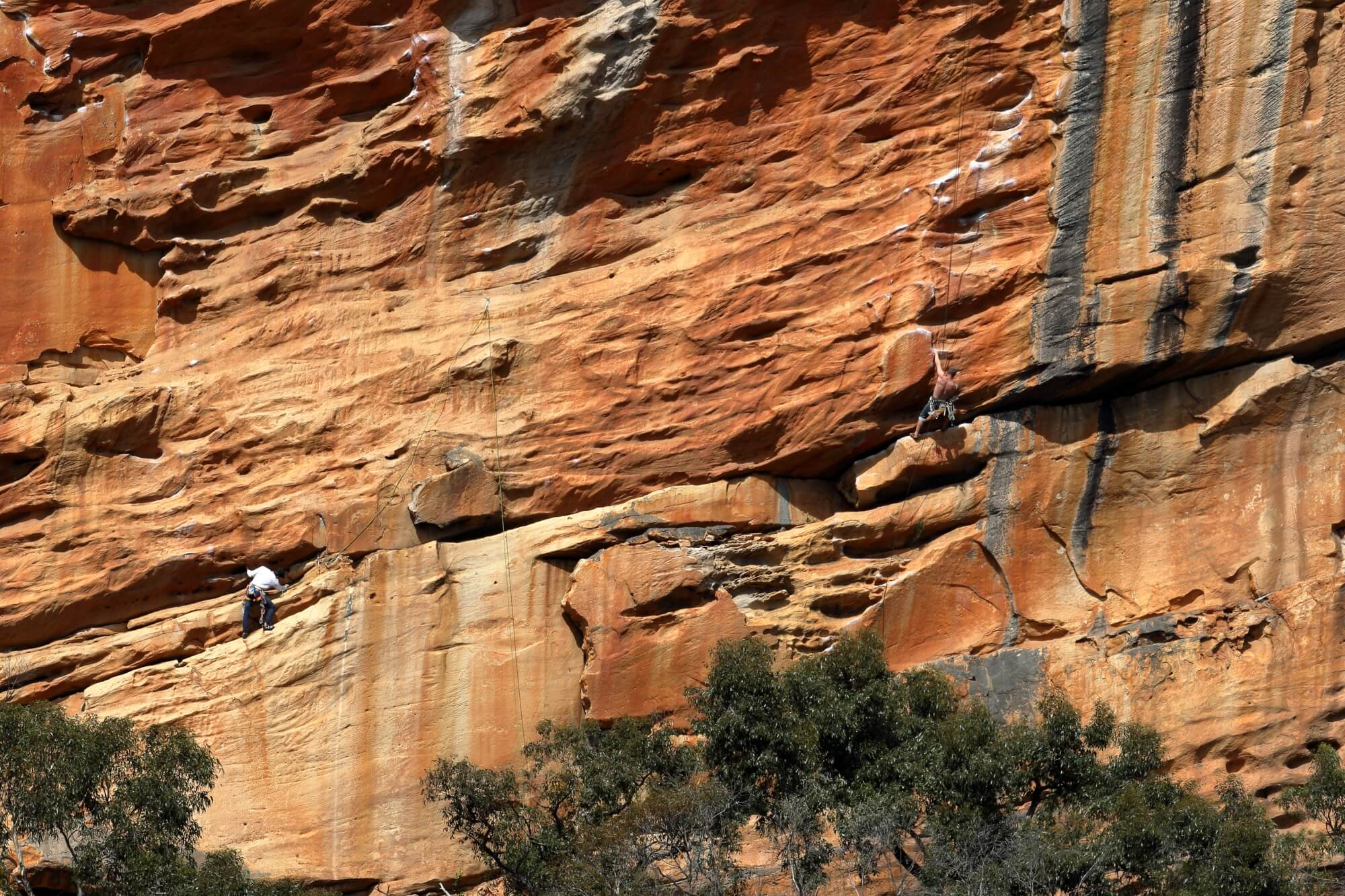 Taipan Wall, Grampians - best national park in Australia for rock climbers