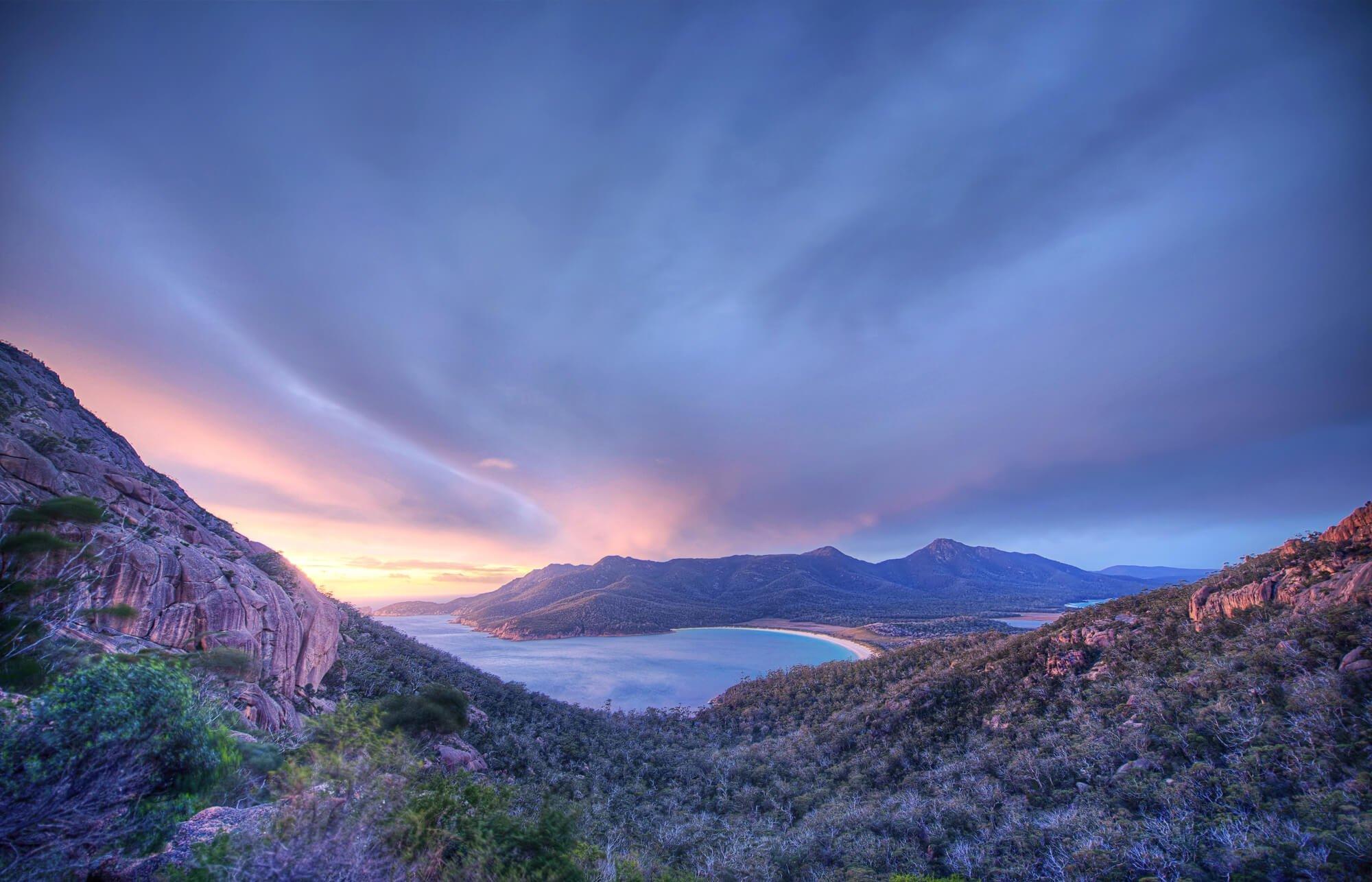 Wineglass Bay, Freycinet Peninsula - one of Australia's most beautiful national parks