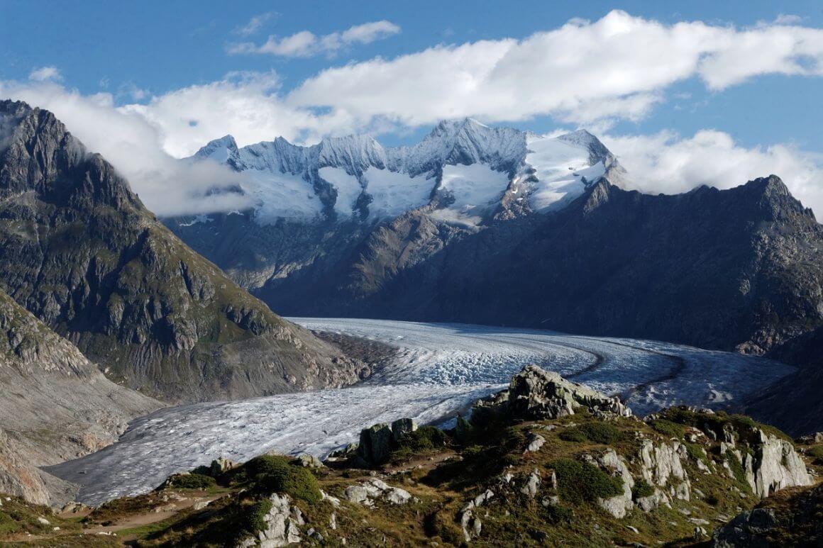 Aletsch Glacier Trail Switzerland