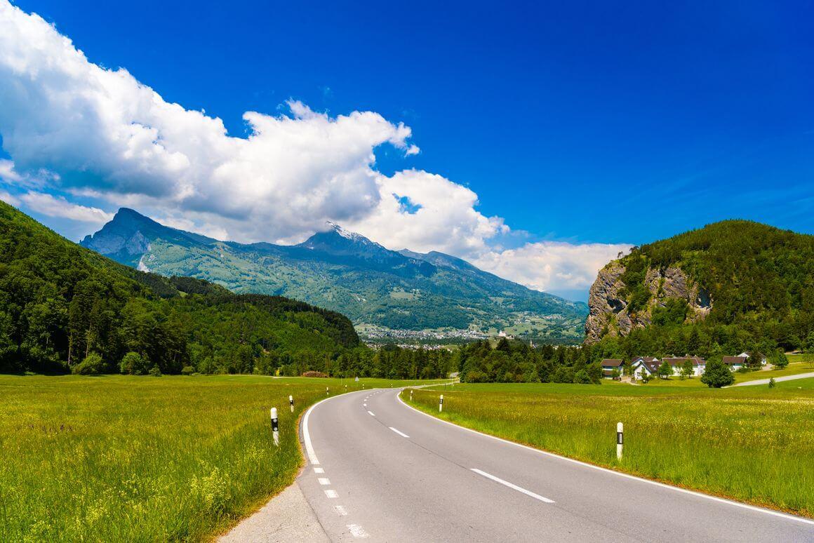 Alpine Pass Route Switzerland