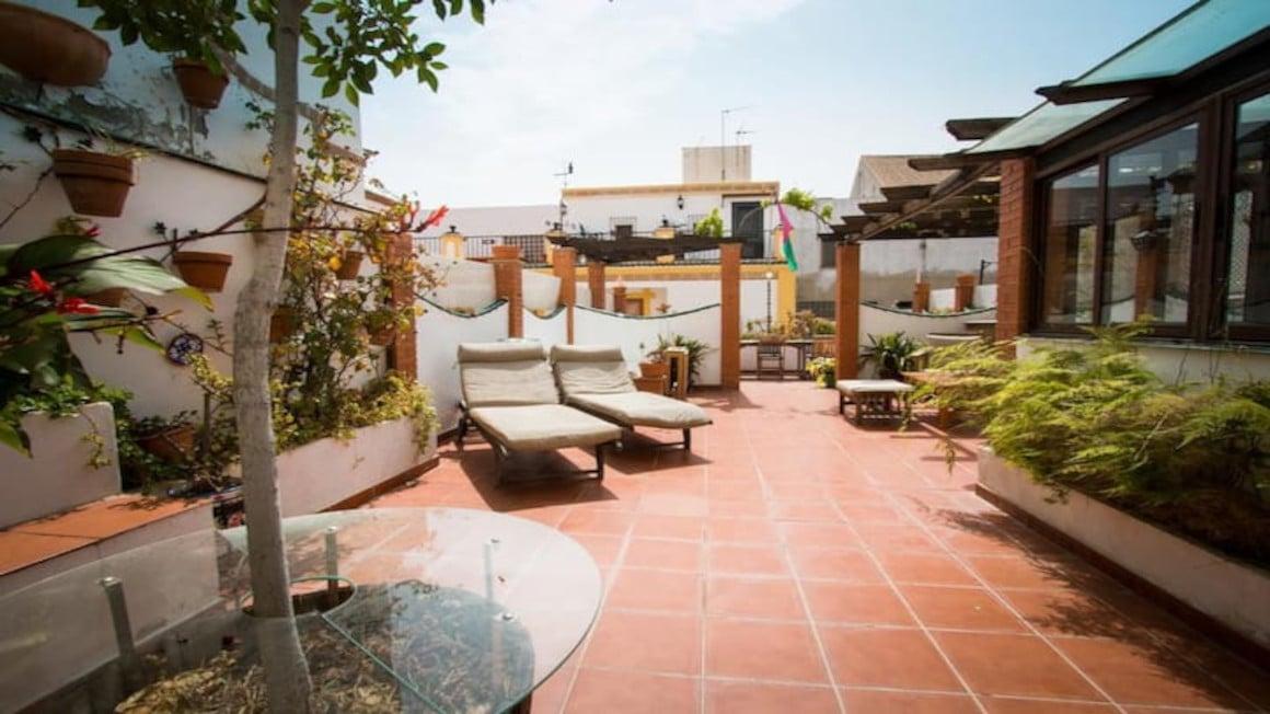 Andalusian House with breathtaking terrace, Malaga
