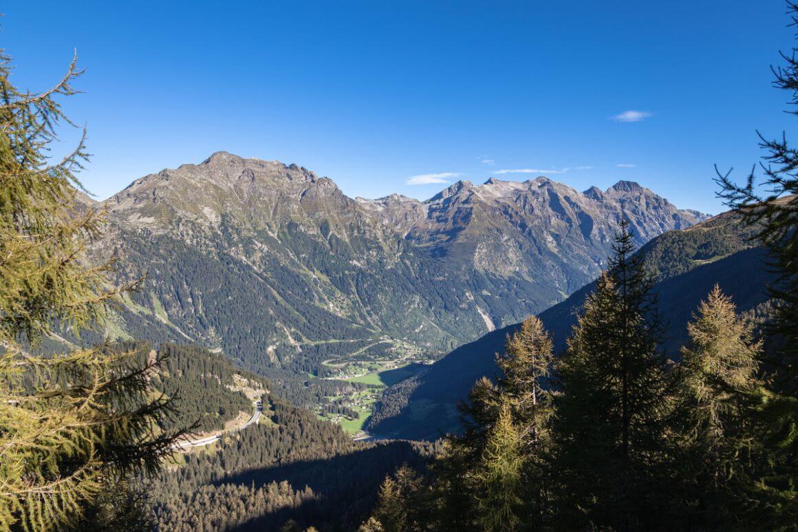 Calanca Mountain Trail Switzerland