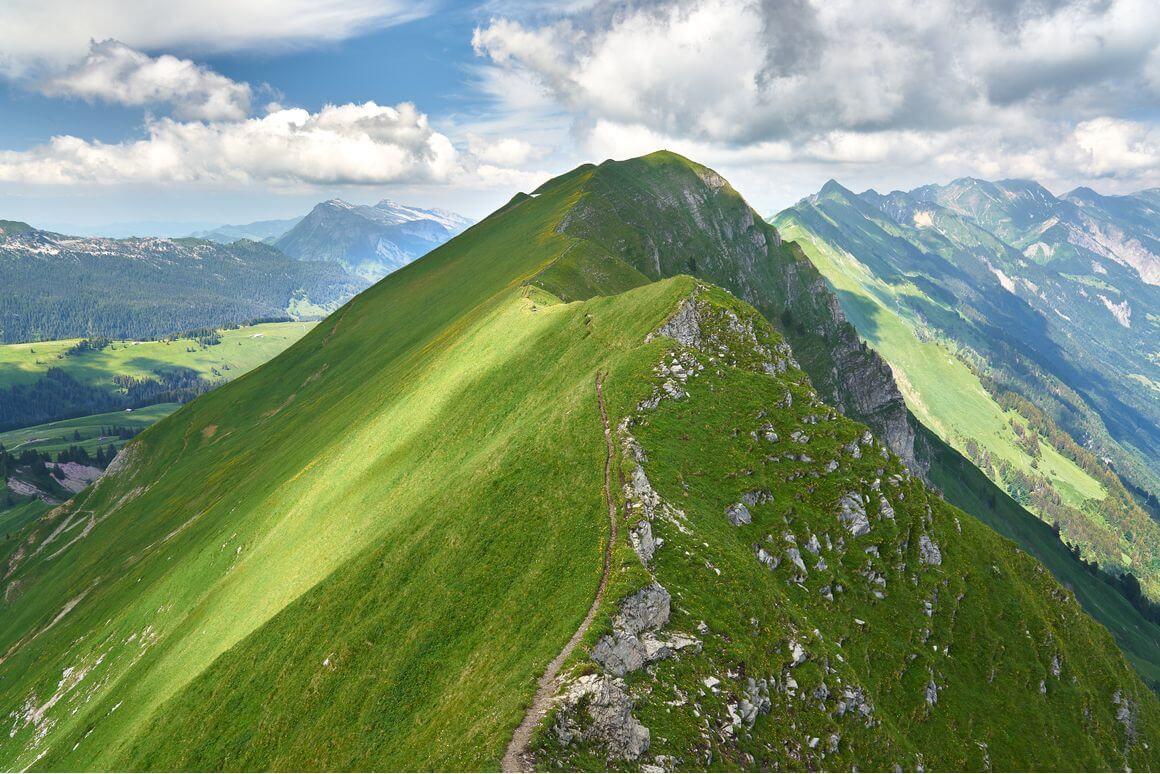 Hardergrat Trail Switzerland