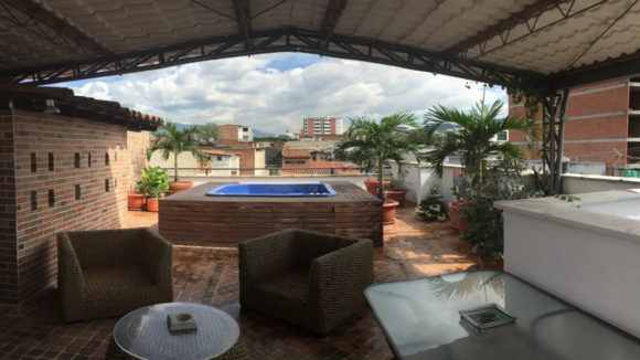 Rooftop Hot Tub with View, Medellin