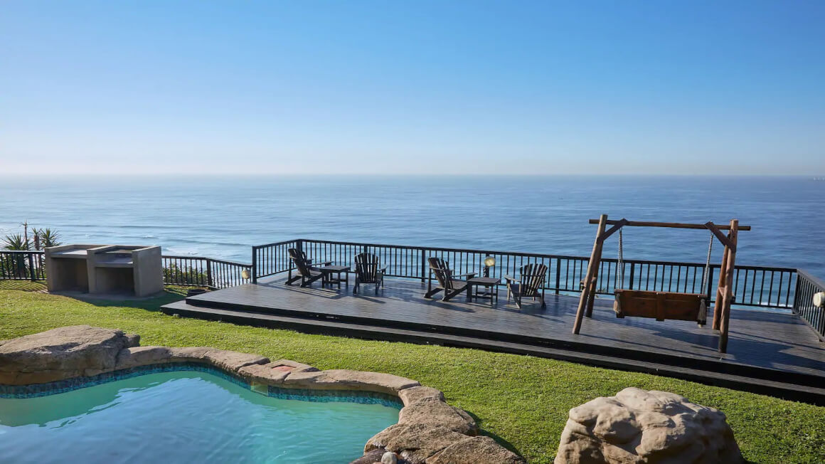 Sea Views with Lookout Deck, Durban