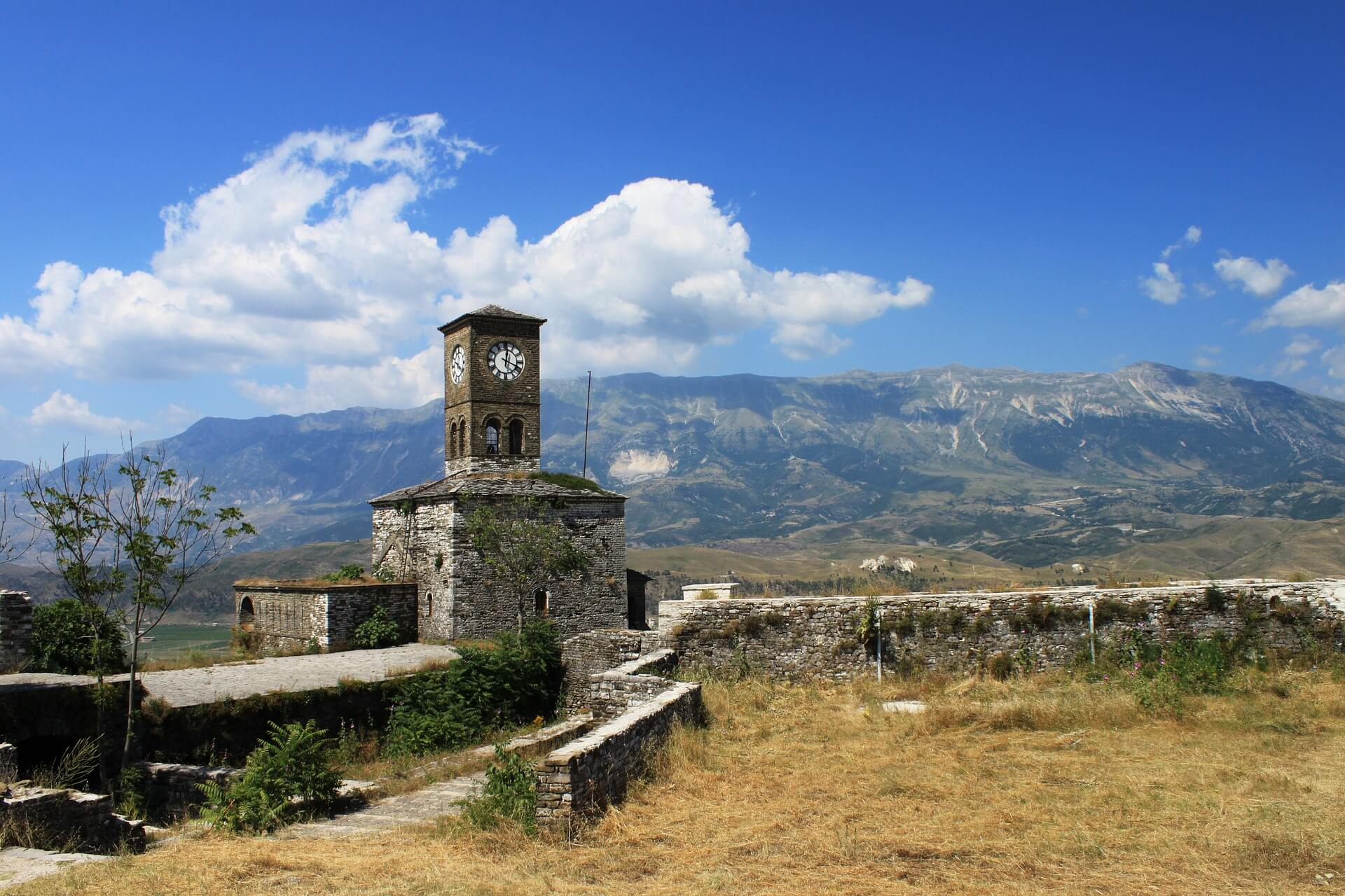 Mountains and old ruins in Albania - my top pick for where Americans can travel now