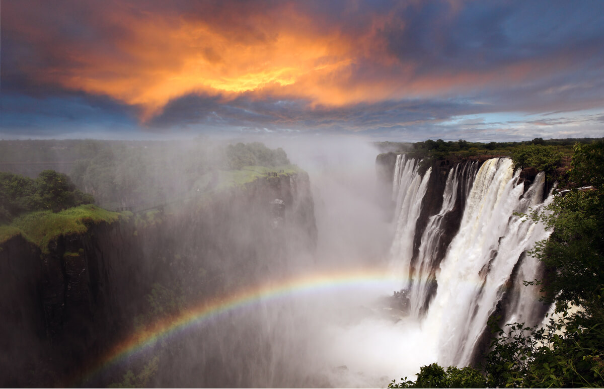 Victoria Falls, Zambia - bucket list destination now reopened to tourism