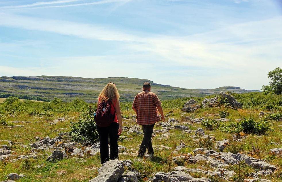 Burren Guided Walk Ireland Holidays