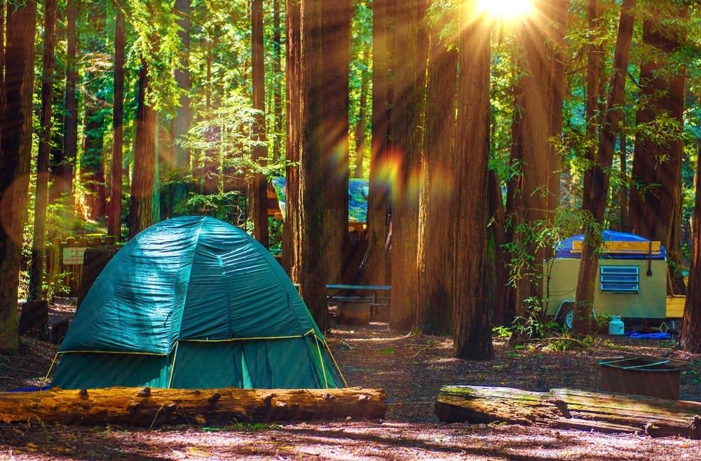 Camping in California