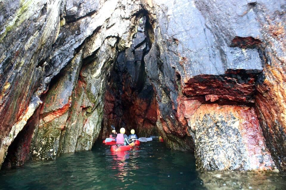 Connemara Coastal Kayaking Ireland Holidays