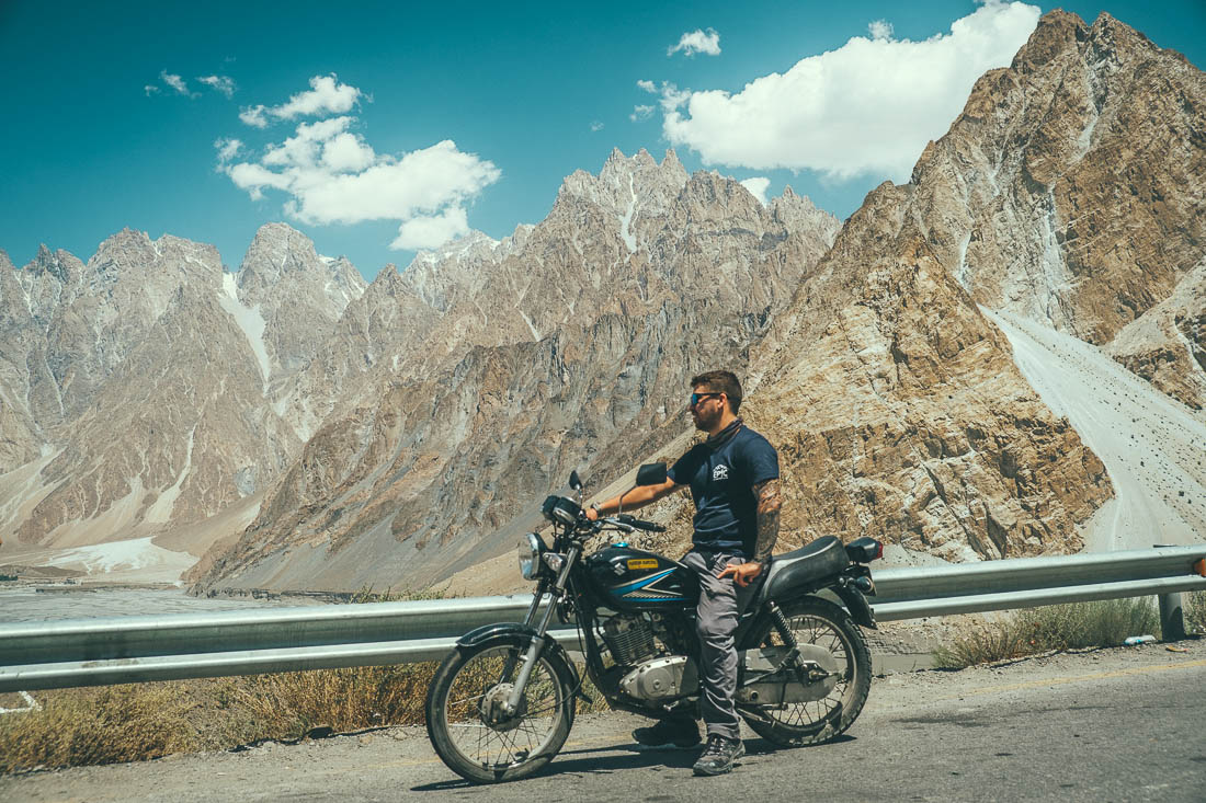 pakistan by motorcycle